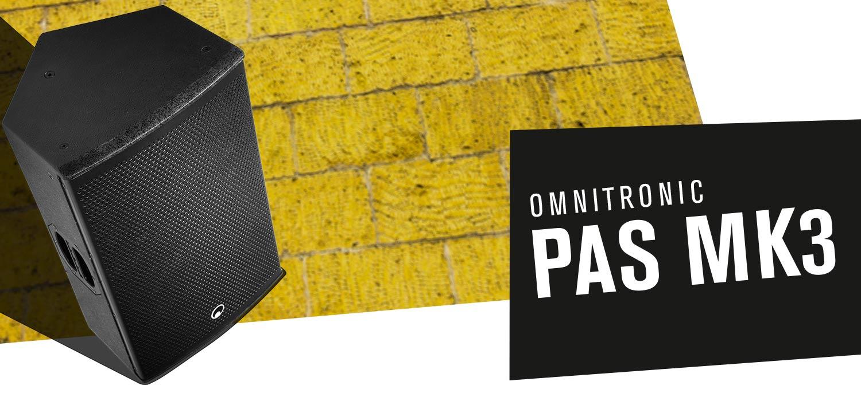 OMNITRONIC PAS-215 MK3 2-Way Top
