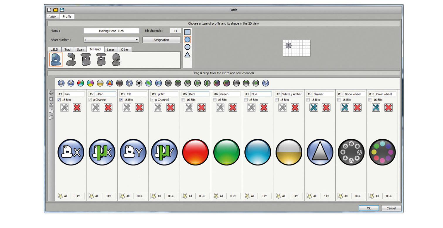 Pro Control DMX Software 1024 - eurolite