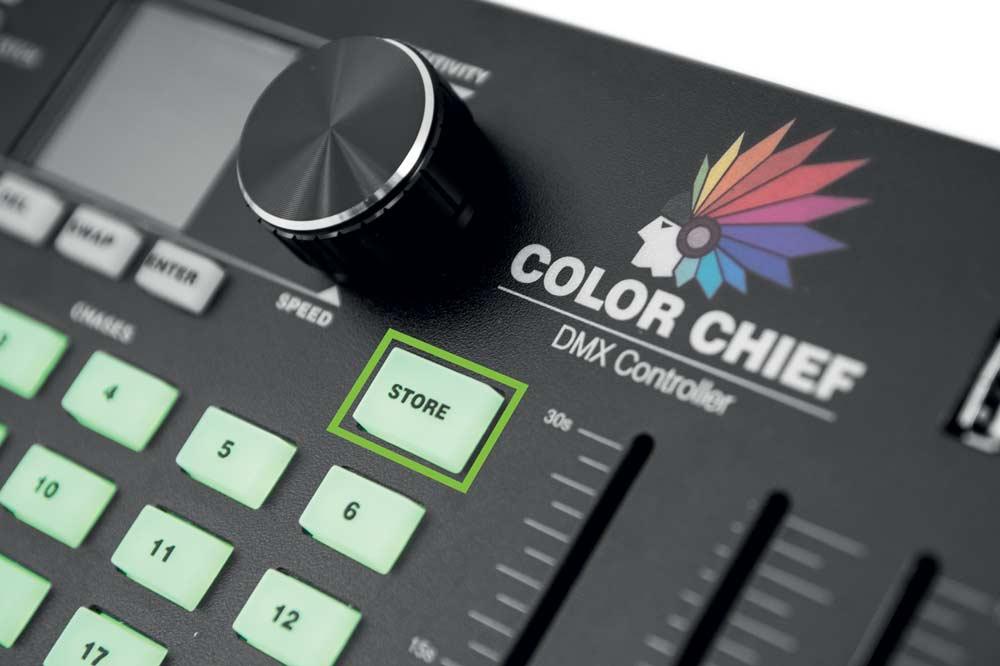DMX LED Color Chief Controller - eurolite